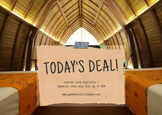 Today's Deal Green Bird Villa Ubud