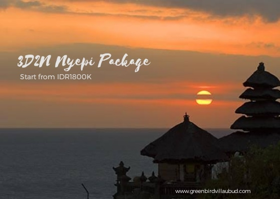 Nyepi Package Green Bird Villa Ubud