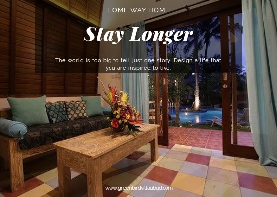 Stay Longer Green Bird Villa Ubud